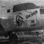 B-25 Bomber SMOKO nose art