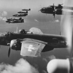 B-25J Mitchell bombers 12th AF over Italy