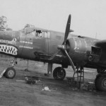 B-25 Mitchell 90th BS Mortimer nose art Kill Marks New Guinea Pacific