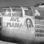 B-25 Mitchell Bomber Ave Maria
