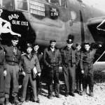 B-25 Mitchell Bomber Baby Blue Eyes