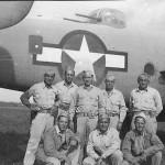 B-25 Mitchell Bomber and crew