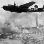 B-25H Mitchell in flight during World War II – CBI 1944