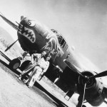 B-25 Mitchell Lucky Bat Bat Outa Hell 499th Bomb Squad 345th Bomb Group