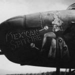 B-25 Mitchell Nose Art Mexican Spitfire