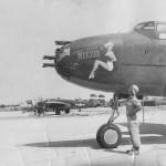 B-25 Mitchell Strafer Weezie nose art