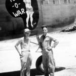 B-25 Mitchell Tug o war nose art