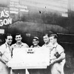 B-25 bomber Rita's Wagon Air Apaches September 1944