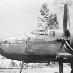 B-25 Mitchell bomber SMOKY nose art