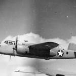 North American B-25C 61 in flight during World War II