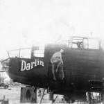 North American B-25 Attack Bomber Darlin nose art