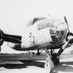 North American B-25 Mitchell front view