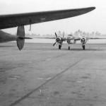 P-38 and B-25 Mitchell Bomber