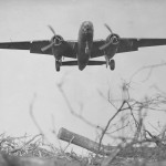 RAF B-25 Mitchell Coming in For Landing 1944