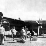 22nd Bomb Group B-26 Marauder at Port Moresby 7 Mile Drome New Guinea 1942