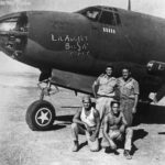 319th Bomb Group B-26C Lil Sis crew North Africa 1943