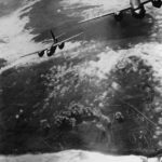 9th AF Marauders over French coastline 1944