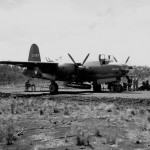 A torpedo armed 22nd Bomb Group B-26B Marauder Port Moresby 1942 41-17589