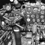 B-26C Marauder Bomber Pilot Cockpit