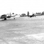 B-26G Marauder Bomber 394th Bomb Group 585th BS and P-47 Fighters 9th AF