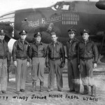 B-26 Crew Mad Russian Nose Art 386th Bomb Group 9th Air Force January 1944