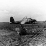 B-26 Marauder Bomber Crash 391st Bomb Group 9th Air Force 2