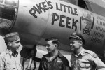 B-26 Pikes Little Peek Nose Art 322nd Bomb Group