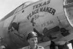 B-26 Texas Peacemaker Nose Art 322nd Bomb Group