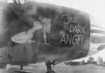 B-26 The Dark Angel nose art