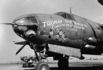 B-26 Marauder Truman Committee Nose Art 322nd Bomb Group