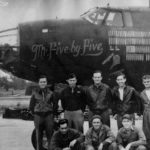 B-26 crew MR FIVE BY FIVE 555th BS July 1944