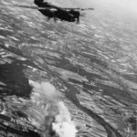 Bombers attacking target along Seine River France