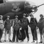 Crew in flak armour by B-26 Mr Fala of 454th BS 323rd BG 41 34692