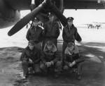 Martin B-26 Marauder and crew