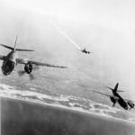 Martin B-26 Marauder formation