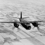 Martin B-26 Marauder in flight