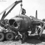 Ordnance unit in Italy replaces nose of B 26 Eunice from Tunis 1944