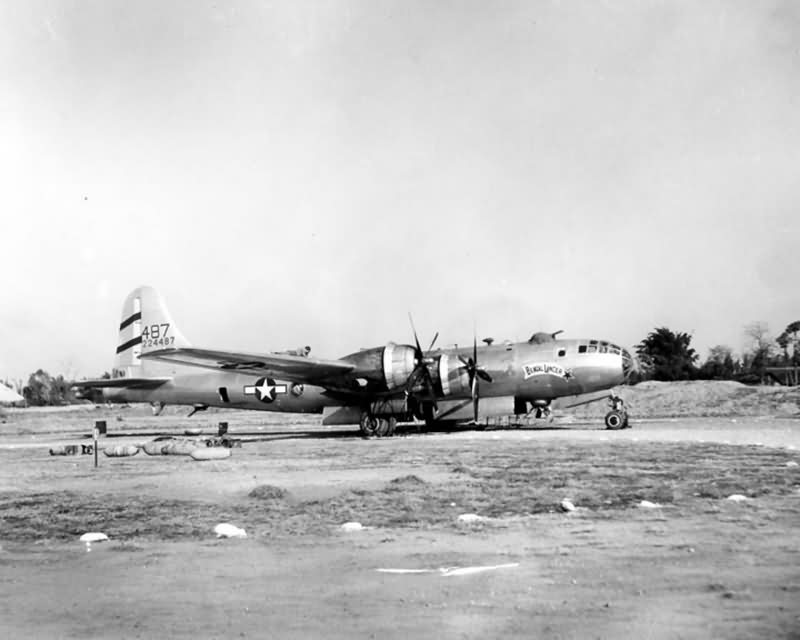 468th bomb group B-29 Superfortress Bengal Lancer 42-24487