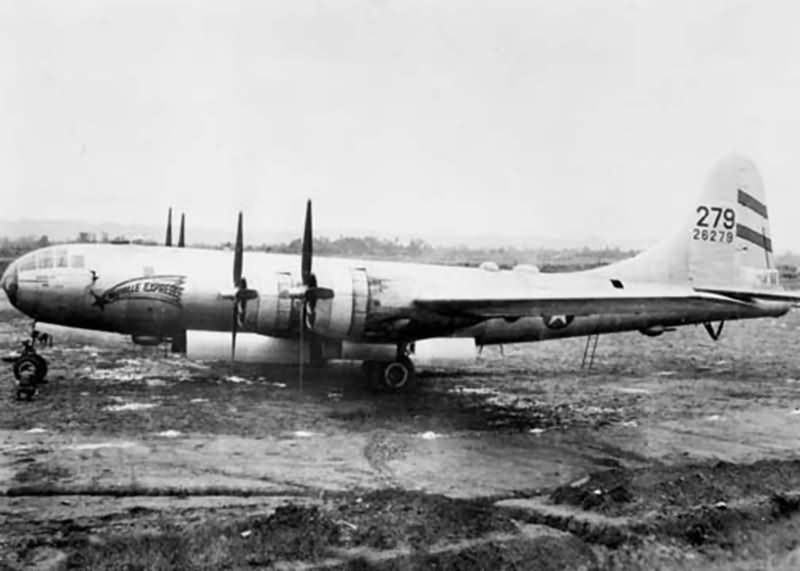468th bomb group Boeing B-29 Superfortress 42-6279 Postville Express in CBI 1944-45