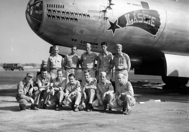 468th bomb group Boeing B-29 Superfortress 42-63356 – CBI 1944-45