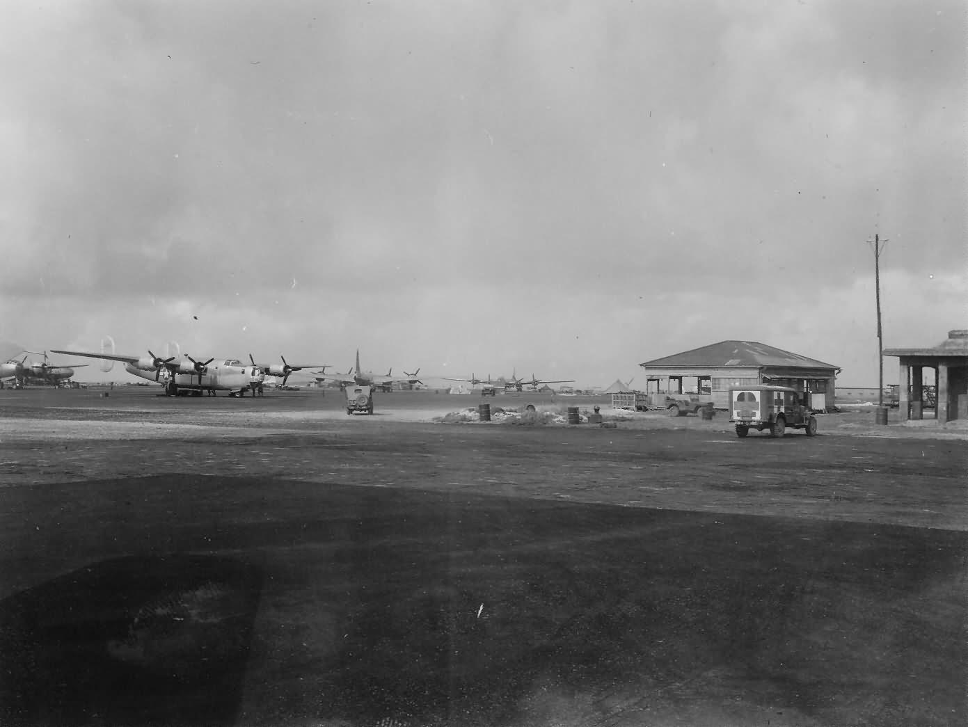 B 24 LIBERATOR + B 29 bombers