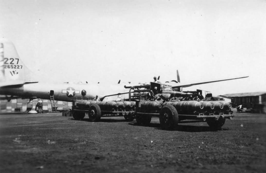 Boeing B-29 42-65227 468th Bombardment Group