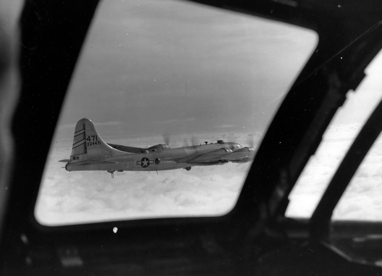 B-29 Superfortress 468th Bomb Group Superfortress 42-24471 Anshan China Raid 1944