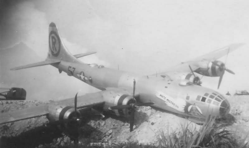 B-29 42-24776 from 6th Bomb Group nose art White Mistress