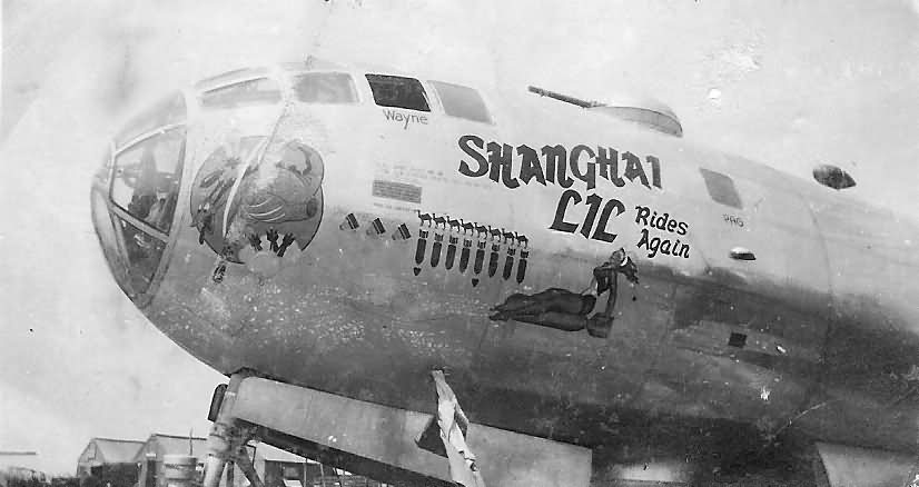 "Boeing B-29 Superfortress 42-24723 ""Shanghai Lil Rides Again"""