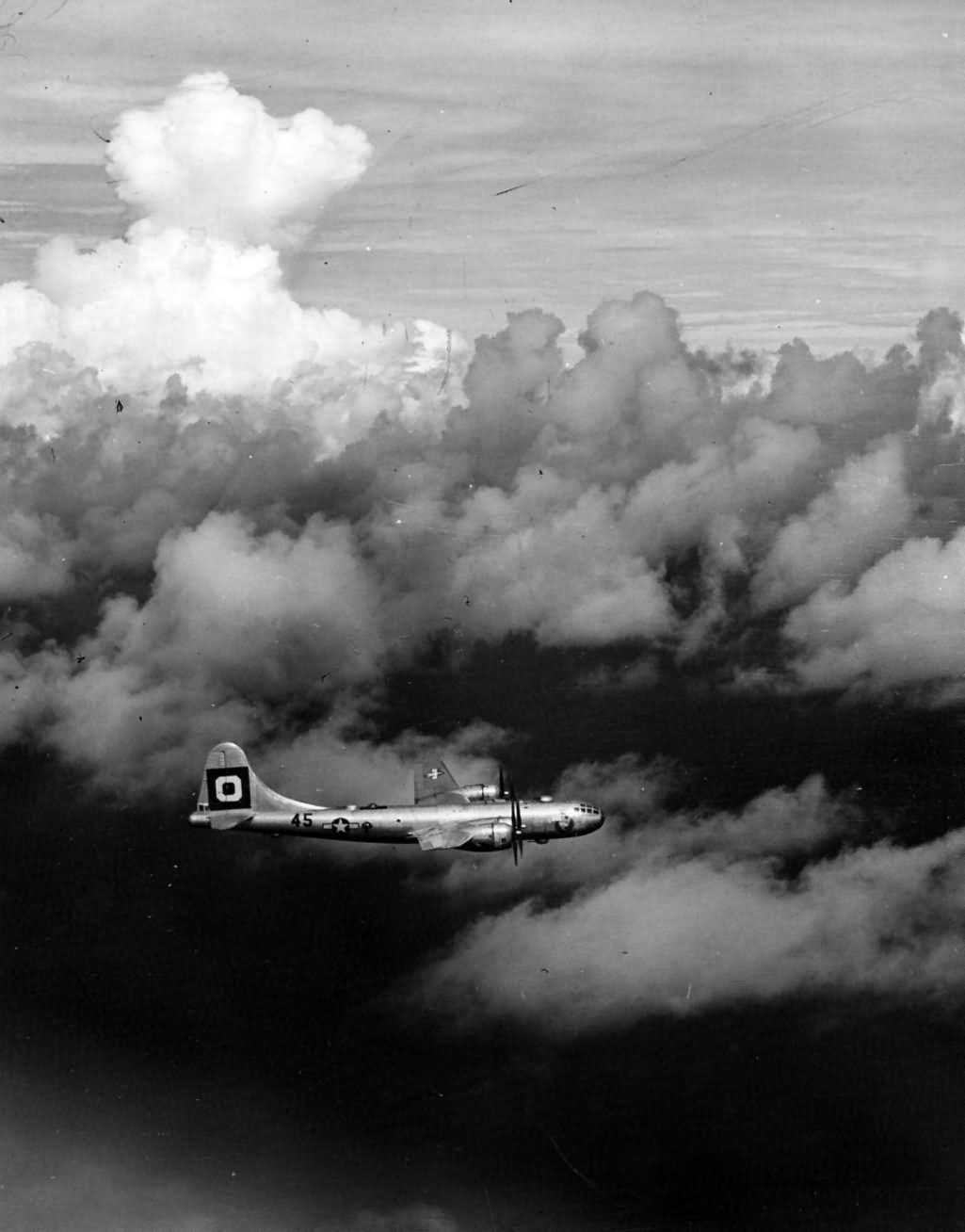 B-29 Superfortress 314 Bomb Wing 29 Bomb Group in Flight 2