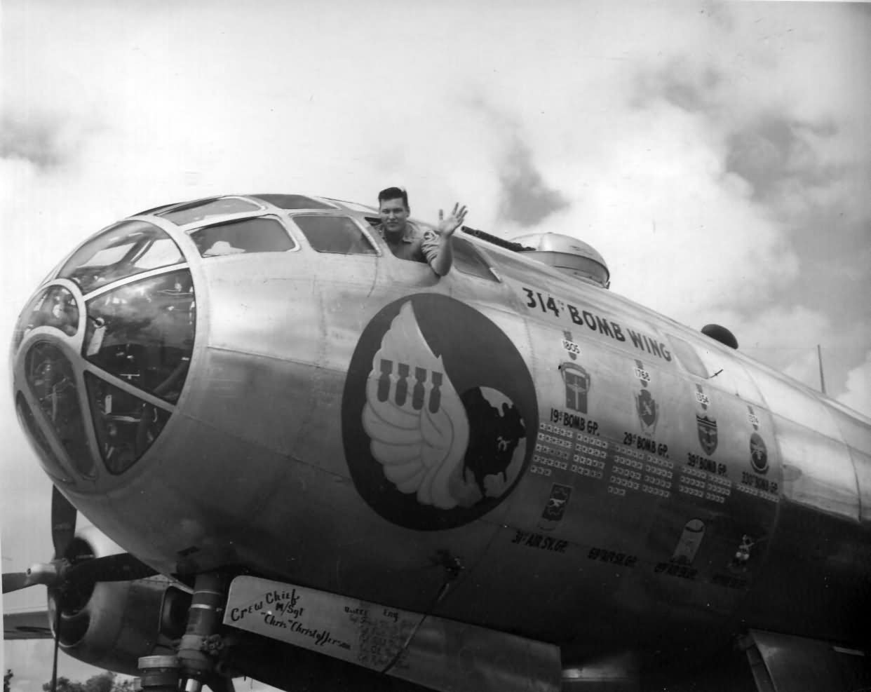 B-29 Superfortress 314th Bomb Wing at Guam 2
