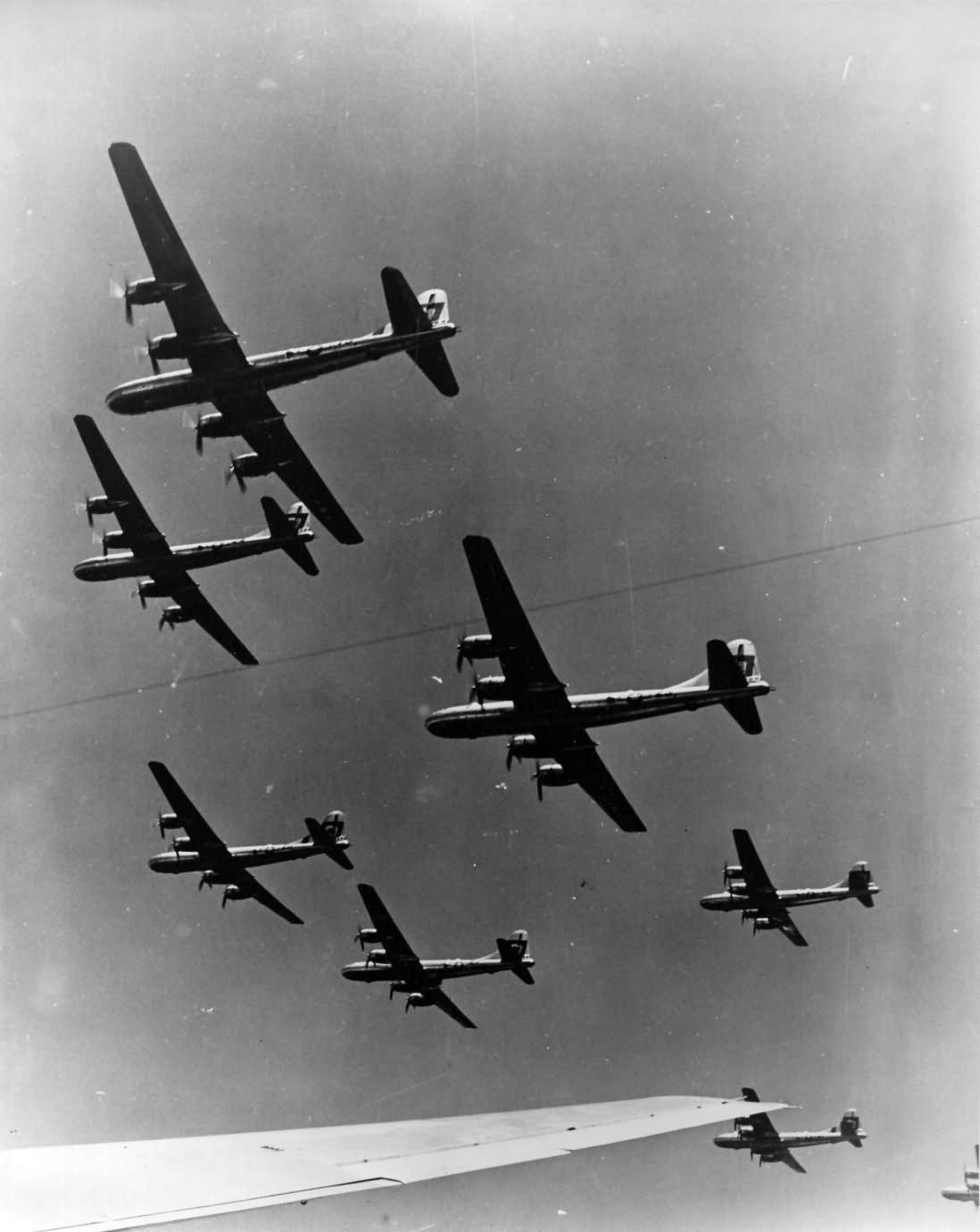 B-29 Superfortress 314 Bomb Wing formation