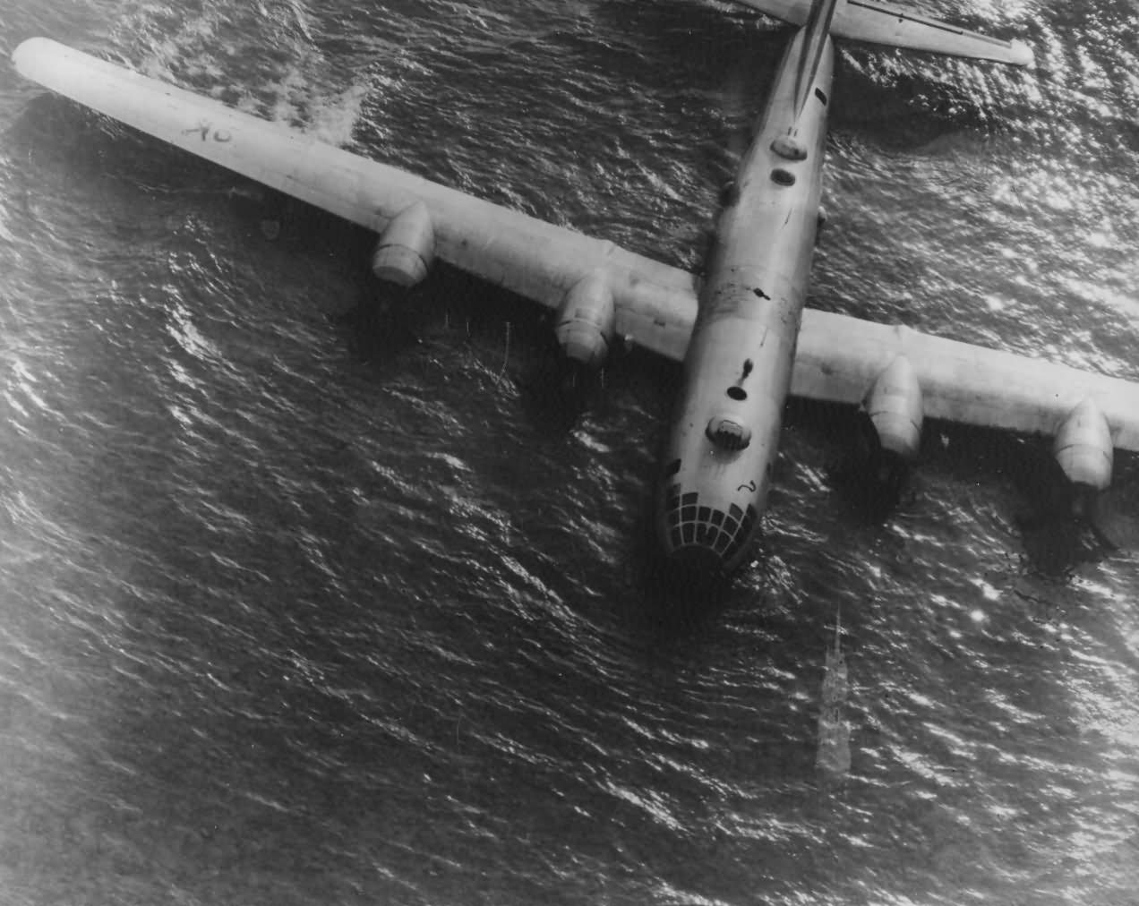 B-29 Superfortress Crashed on Beach