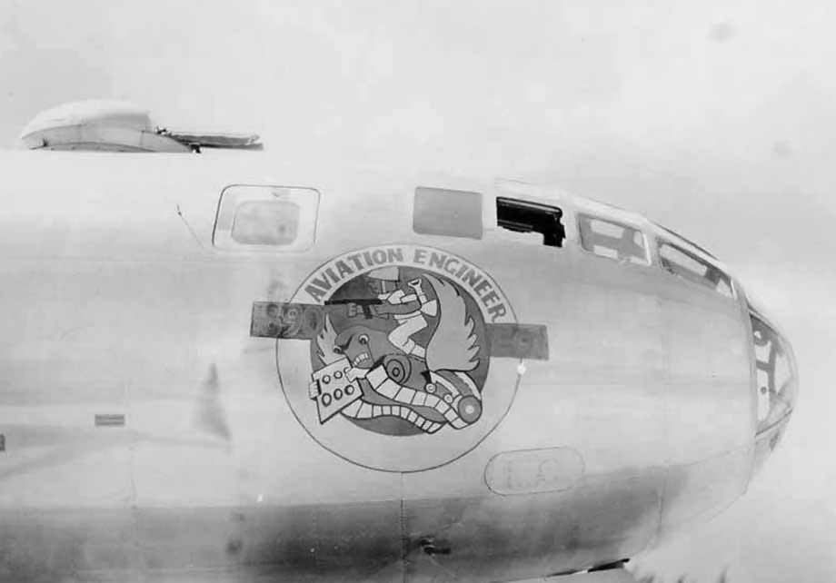 Boeing B-29 Superfortress Nose Art Aviation Engineer